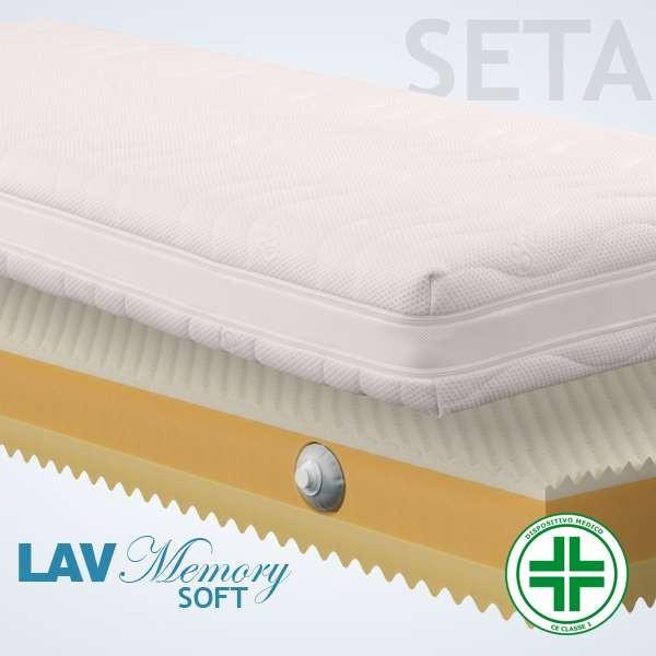 Materassi Lav Soft Seta 3d