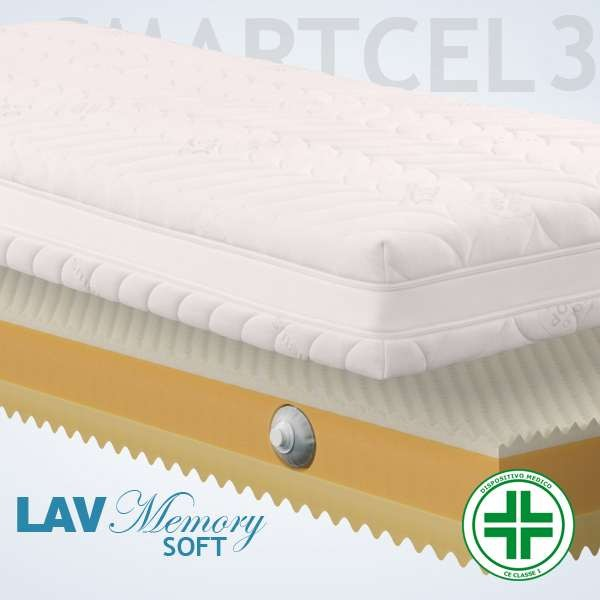 Materassi Lav Soft Smart 3d