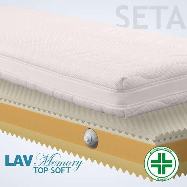 Materassi Lav Top Soft Seta 3d
