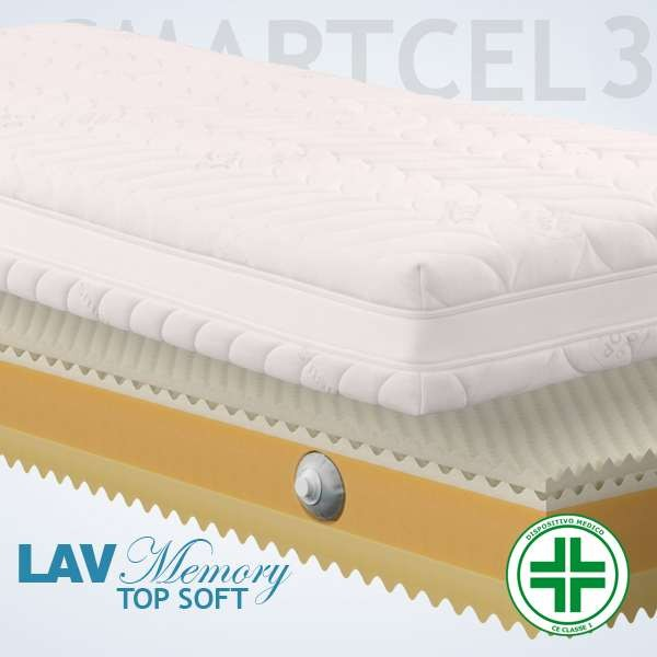 Materassi Lav Top Soft Smart 3d