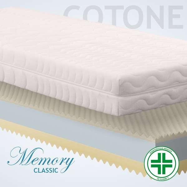 Materassi Memory Classic Cotone