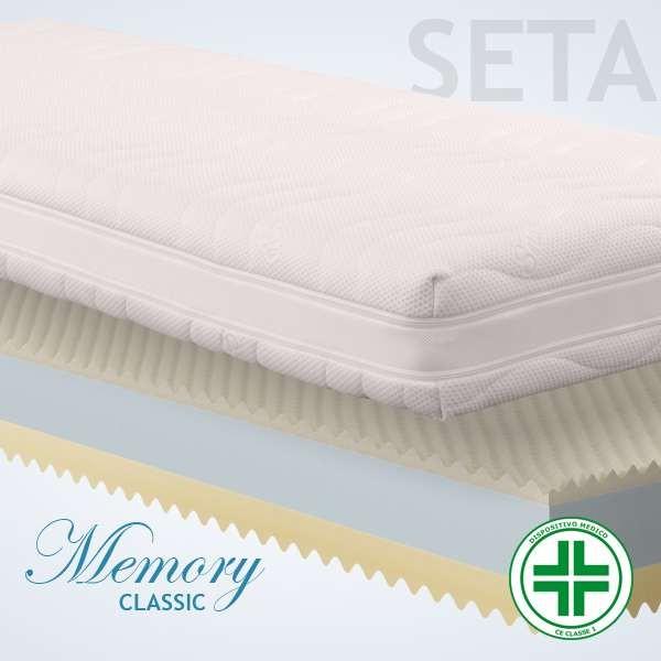 Materassi Memory Classic Seta 3d