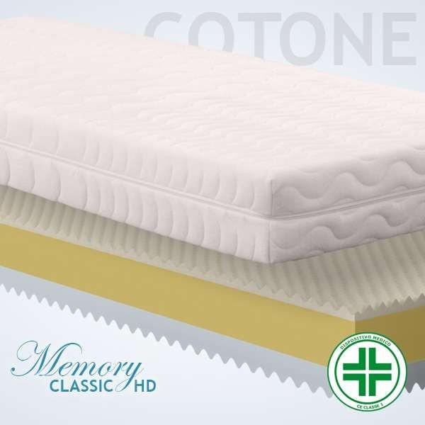 Materassi Memory Classic HD Cotone