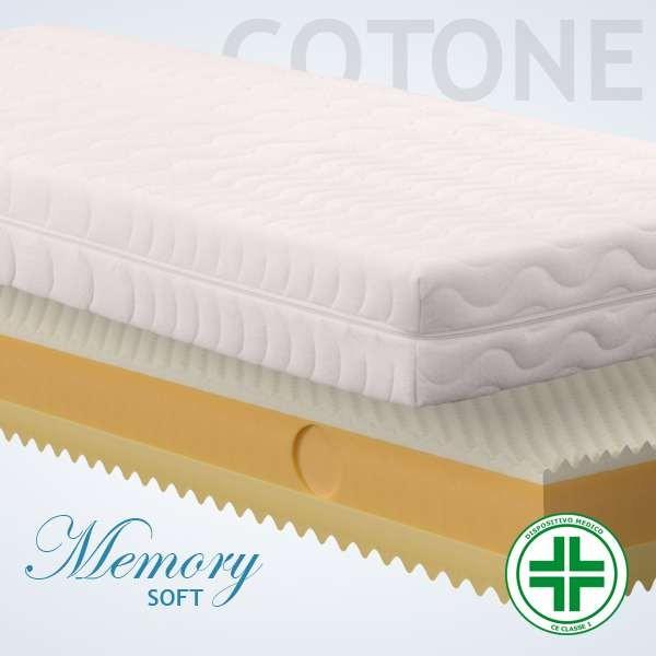 Materassi Memory Soft Cotone
