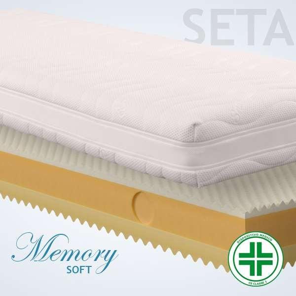Materassi Memory Soft Seta 3d