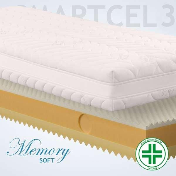 Materassi Memory Soft Smart 3d