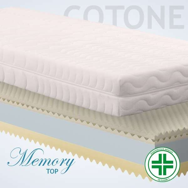Materassi Memory Top Cotone