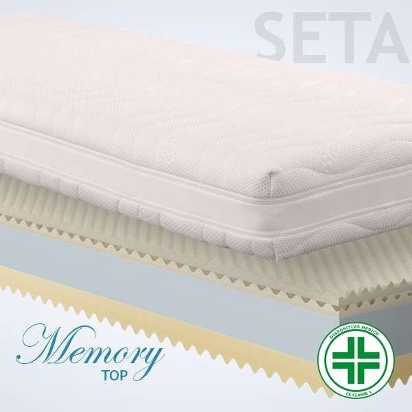 Materassi Memory Top Seta 3d