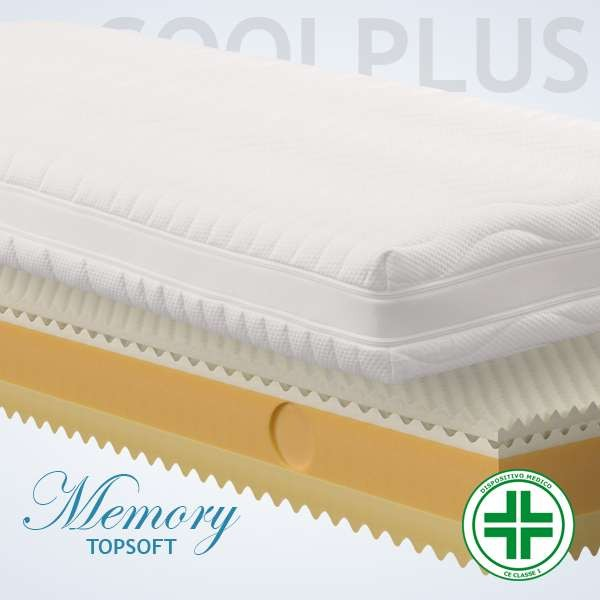 Materassi Memory Top Soft Cool 3d