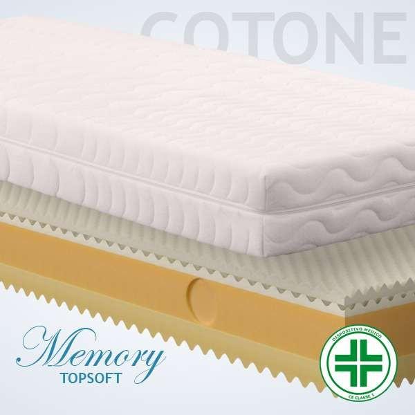 Materassi Memory Top Soft Cotone