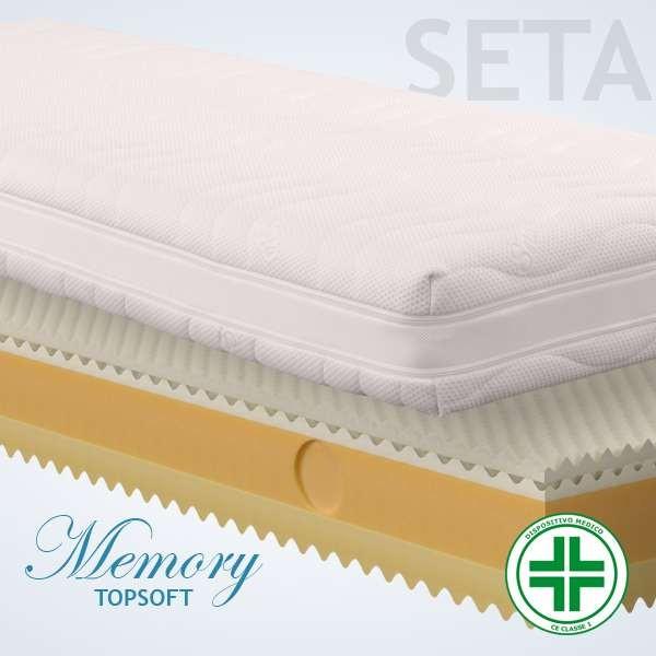 Materassi Memory Top Soft Seta 3d