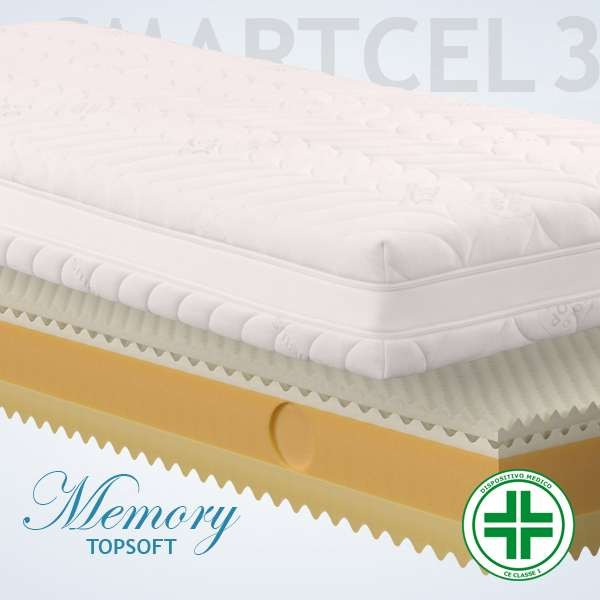Materassi Memory Top Soft Smart 3d