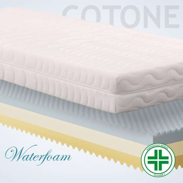 Materassi Waterfoam Cotone